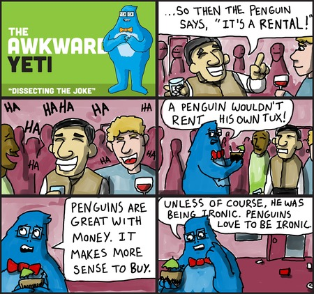 The Awkward Yeti for Sep 14, 2014 Comic Strip