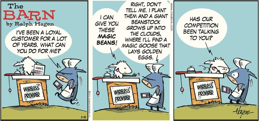 The Barn for Mar 30, 2014 Comic Strip