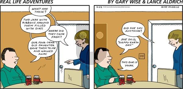 Real Life Adventures on Sunday April 22, 2018 Comic Strip