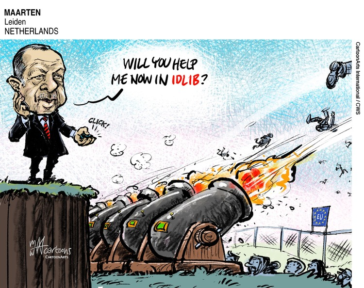 ViewsEurope Comic Strip for March 01, 2020