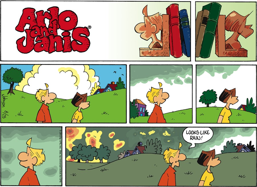 Arlo and Janis for Aug 25, 2013 Comic Strip