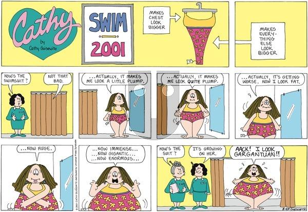 Cathy Classics on Sunday May 20, 2001 Comic Strip