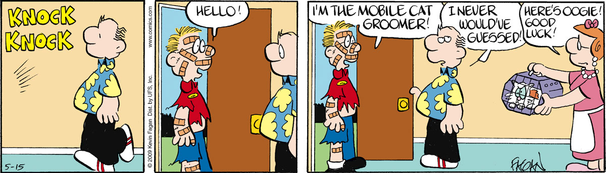 Drabble for May 15, 2009 Comic Strip