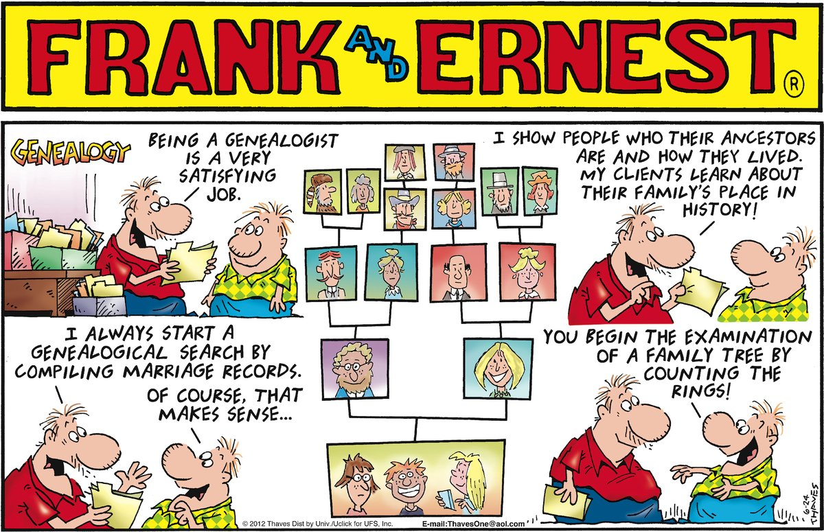 Frank and Ernest Comic Strip for June 24, 2012