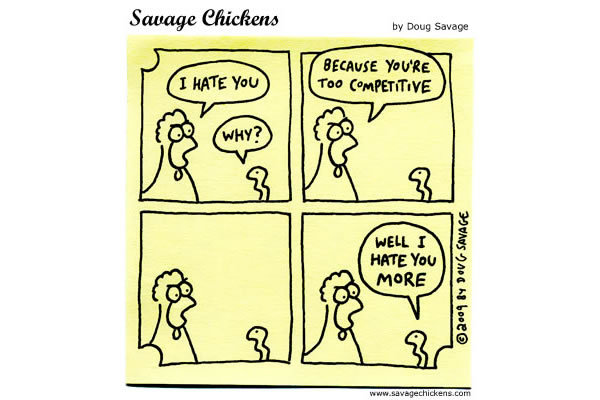 Savage Chickens Comic Strip for March 20, 2013
