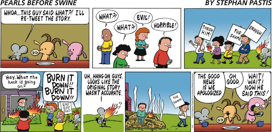 Pearls Before Swine Comic Strip for February 24, 2019