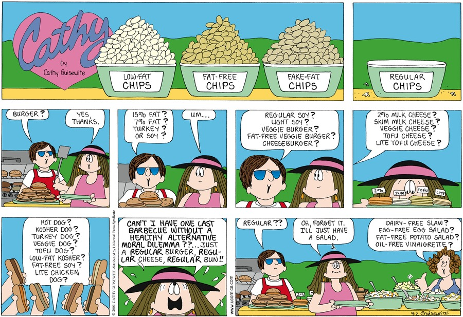 Cathy for Sep 2, 2012 Comic Strip