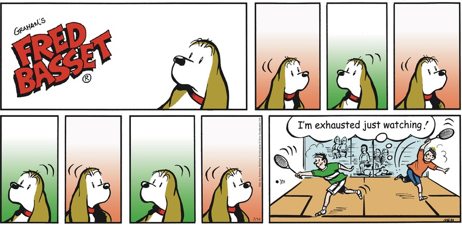 Fred Basset Comic Strip for July 14, 2019