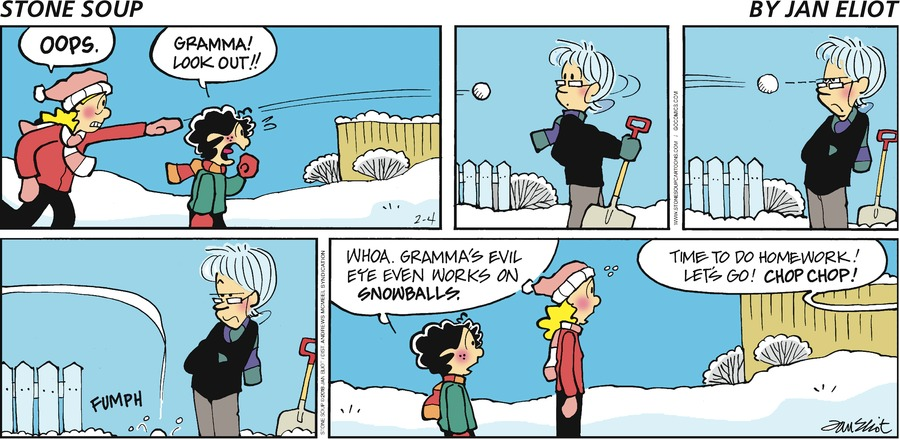 Stone Soup for February 04, 2018 Comic Strip
