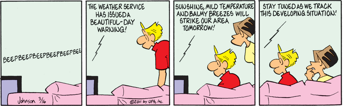 Arlo and Janis Comic Strip for March 16, 2011