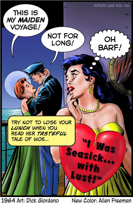 Last Kiss Comic Strip for September 16, 2020