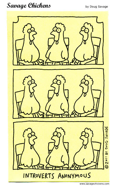 Savage Chickens Comic Strip for May 07, 2015