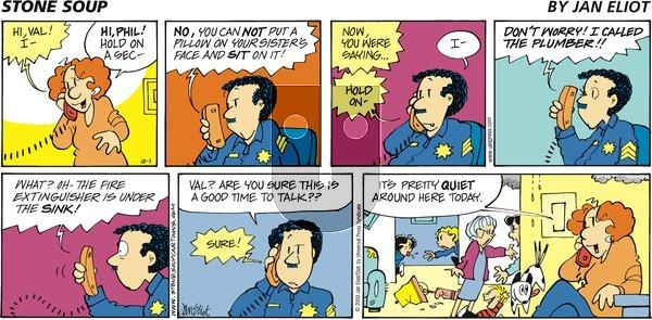 Stone Soup on Sunday October 1, 2000 Comic Strip