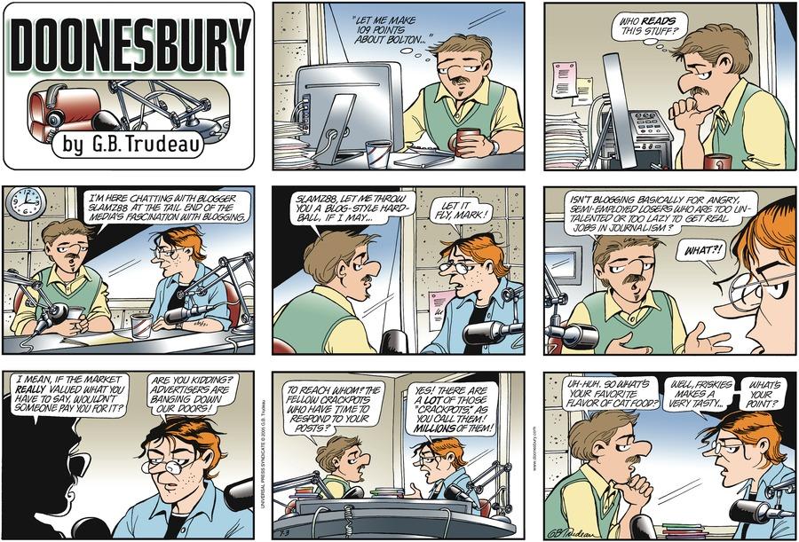 Doonesbury for Jul 3, 2005 Comic Strip
