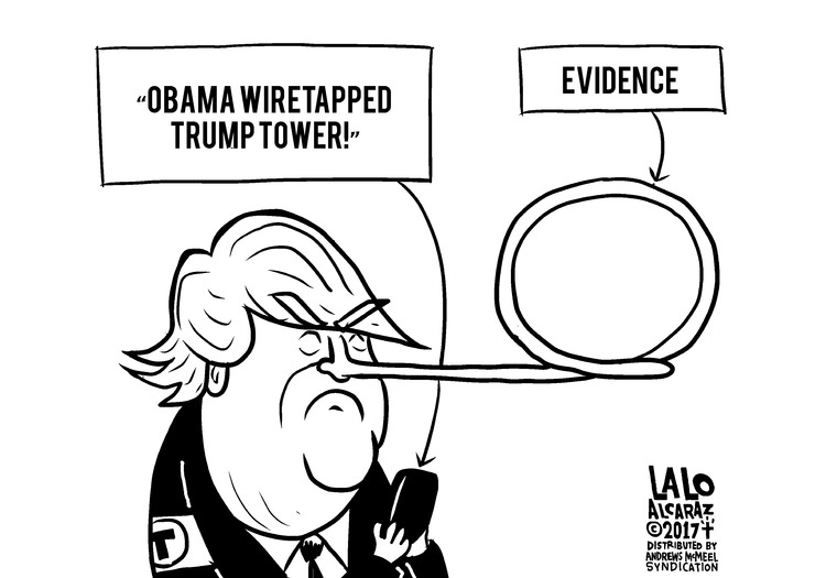 """Obama wiretapped Trump Tower!"" 
