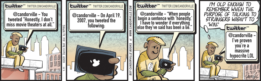 Candorville Comic Strip for January 11, 2021