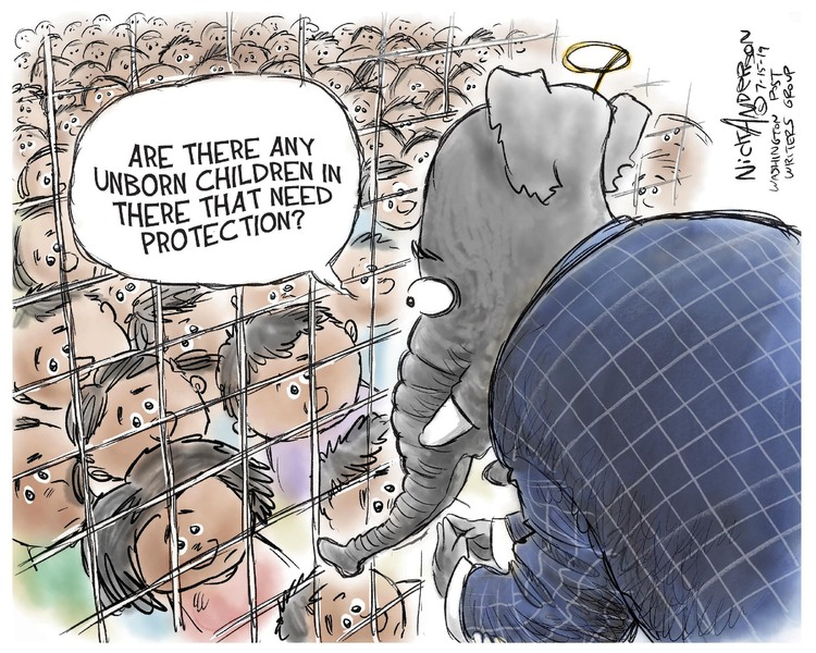 Nick Anderson Comic Strip for July 15, 2019