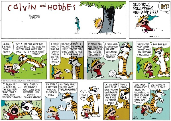 Calvin and Hobbes on Sunday May 24, 2020 Comic Strip