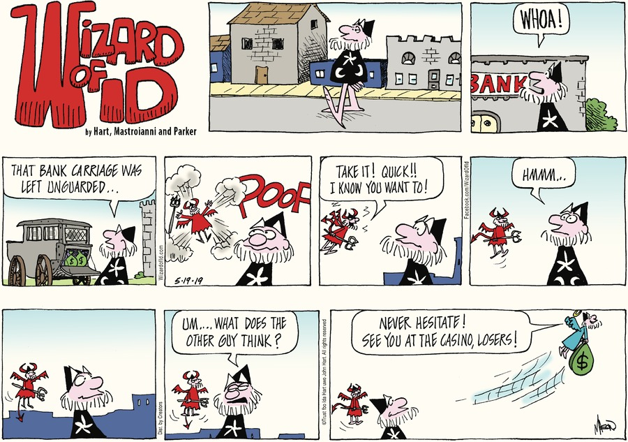 Wizard of Id Comic Strip for May 19, 2019