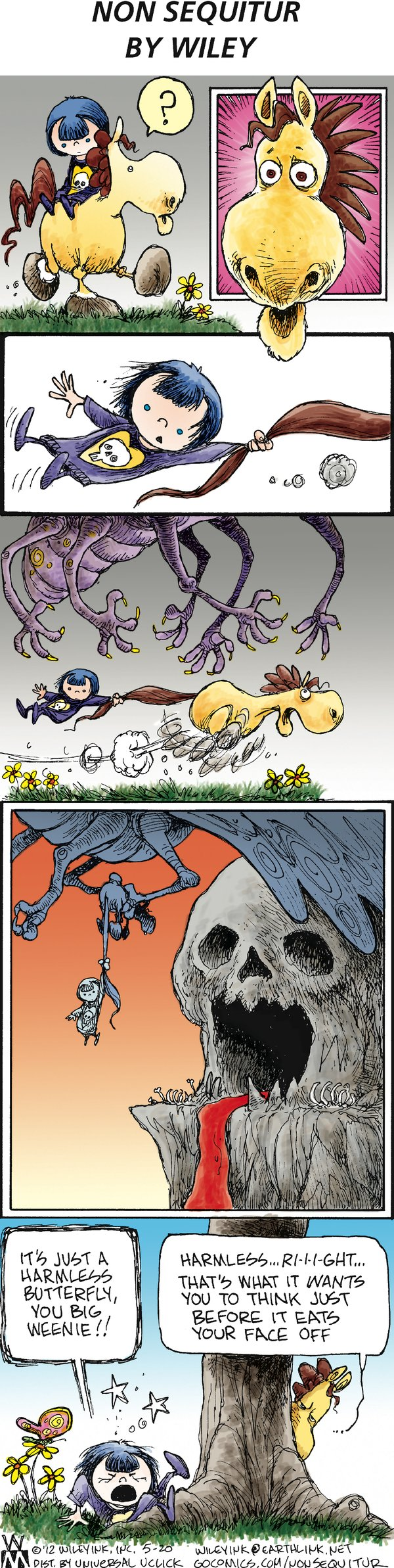 Non Sequitur for May 20, 2012 Comic Strip