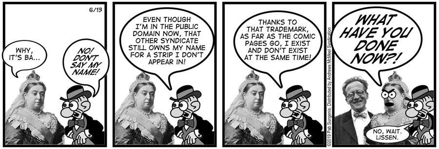 New Adventures of Queen Victoria Comic Strip for June 13, 2019