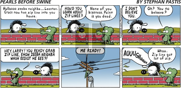 Pearls Before Swine on Sunday April 14, 2013 Comic Strip