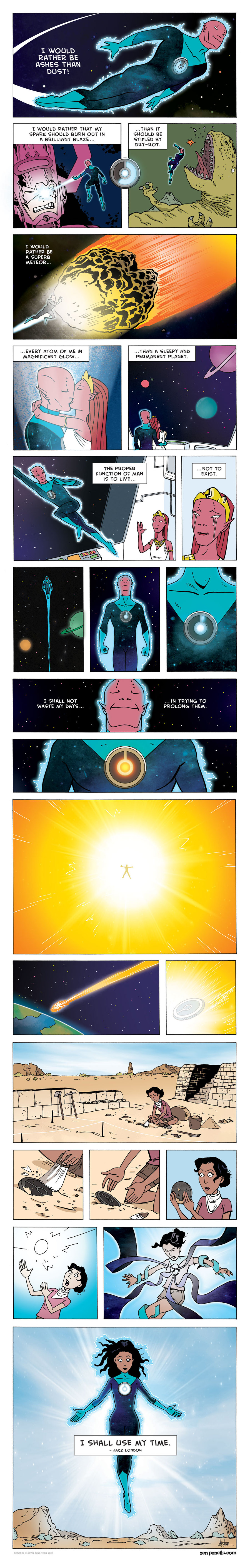 Zen Pencils for Mar 24, 2014 Comic Strip