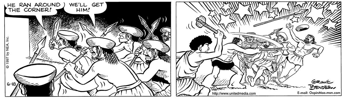 Alley Oop for Jun 18, 1997 Comic Strip