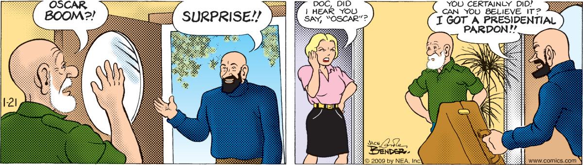 Alley Oop for Jan 21, 2009 Comic Strip