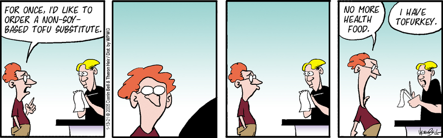 Rudy Park Comic Strip for January 13, 2021