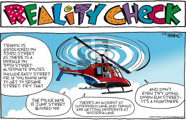Reality Check - Sunday June 28, 2020 Comic Strip