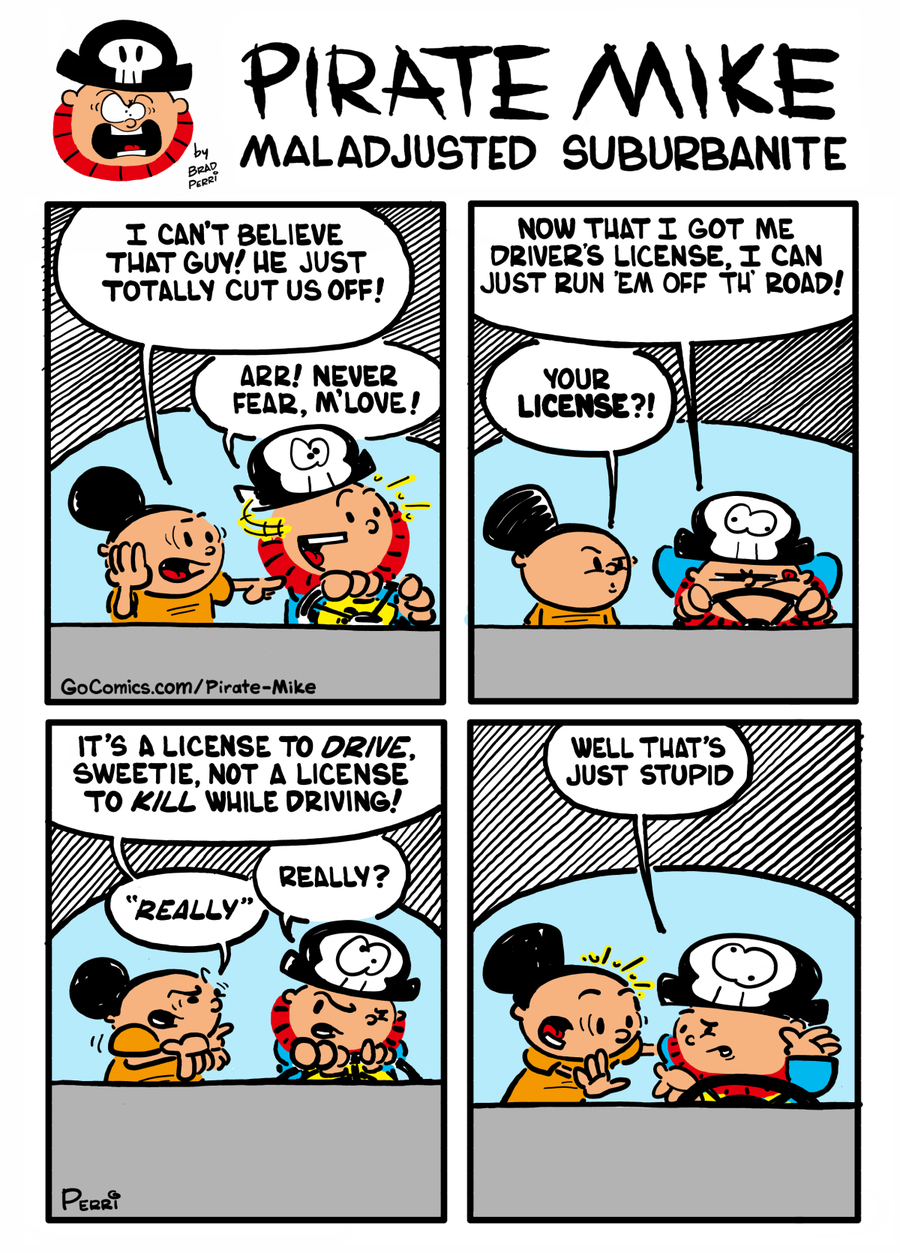 Pirate Mike Comic Strip for December 02, 2019