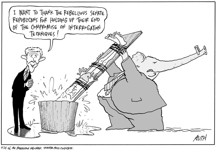 Tony Auth Comic Strip for September 24, 2006
