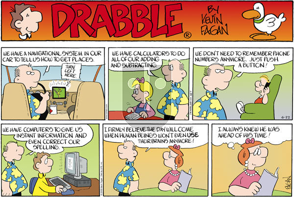 Drabble on Sunday June 22, 2008 Comic Strip