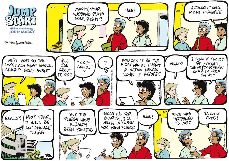 JumpStart Comic Strip for October 27, 2002