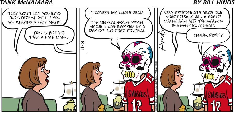 Tank McNamara Comic Strip for November 08, 2020
