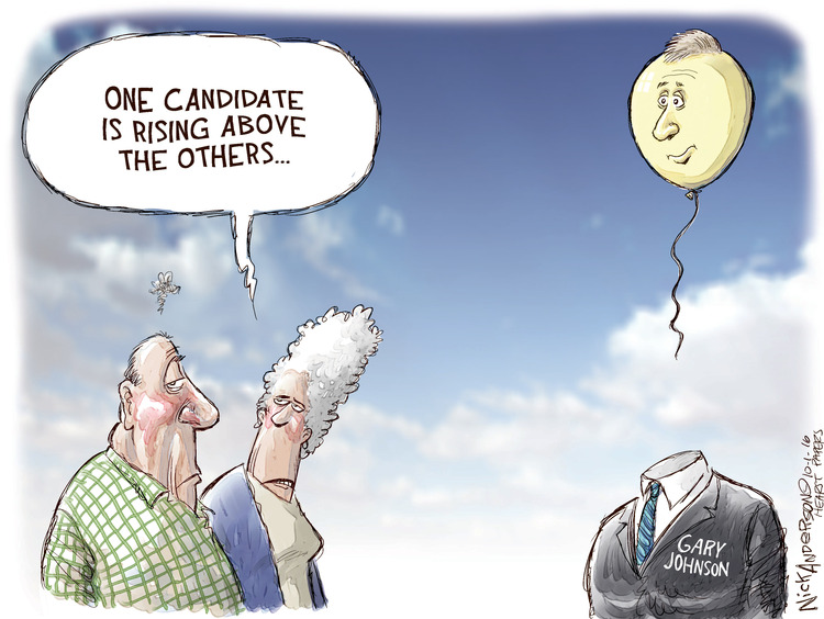 Nick Anderson Comic Strip for October 01, 2016
