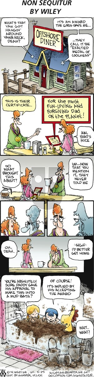 Non Sequitur on Sunday May 25, 2014 Comic Strip