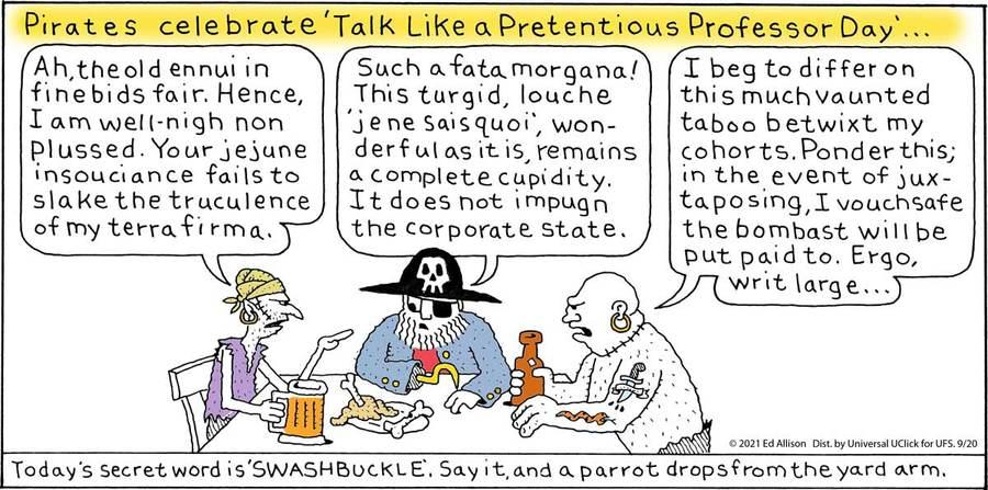 Unstrange Phenomena Comic Strip for September 20, 2021