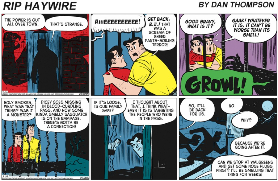 Rip Haywire Comic Strip for July 25, 2021