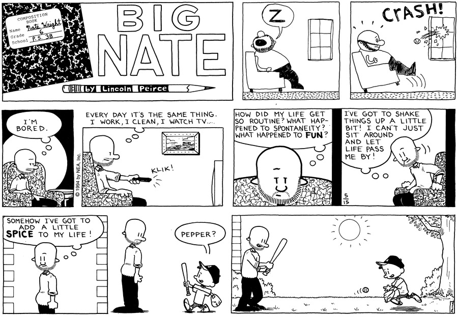 Big Nate: First Class Comic Strip for May 26, 2019