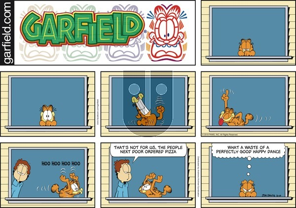 Garfield on Sunday March 10, 2019 Comic Strip