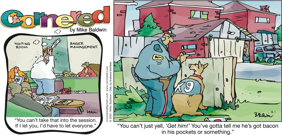 Cornered Comic Strip for August 01, 2021