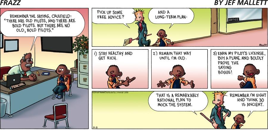 Frazz for Feb 2, 2014 Comic Strip