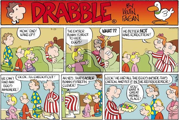 Drabble on Sunday March 23, 2008 Comic Strip