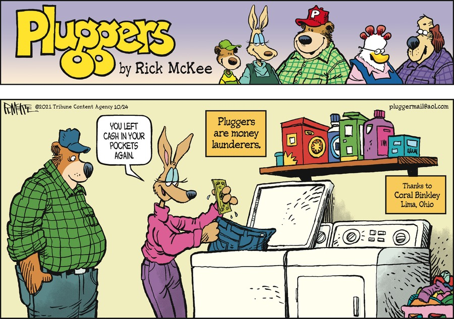 Pluggers by Rick McKee on Sun, 24 Oct 2021