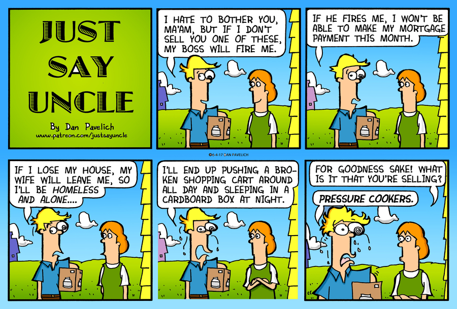Just Say Uncle by Dan Pavelich on Sun, 21 Jun 2020