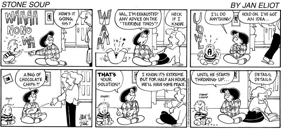Stone Soup Comic Strip for April 14, 1996