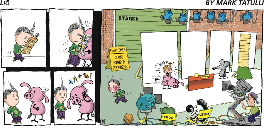 Lio for Apr 19, 2009 Comic Strip