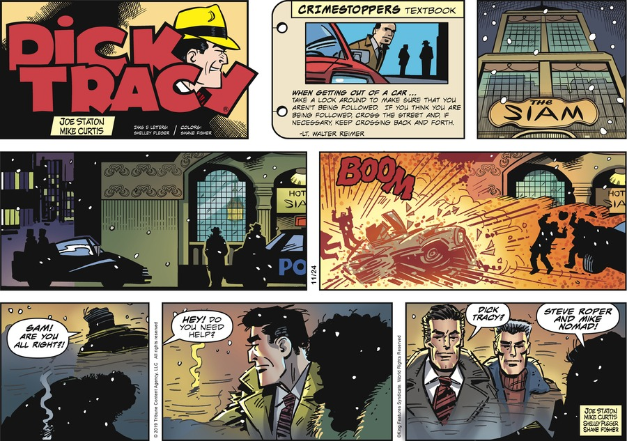 Dick Tracy Comic Strip for November 24, 2019